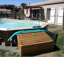 filtration piscine semi enterree